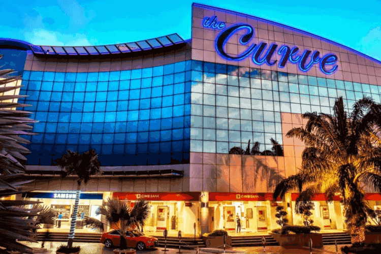 The Curve Shopping Mall in Malaysia